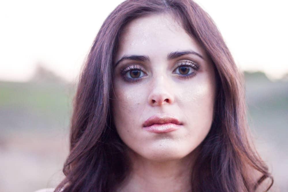 brunette girl portrait photography
