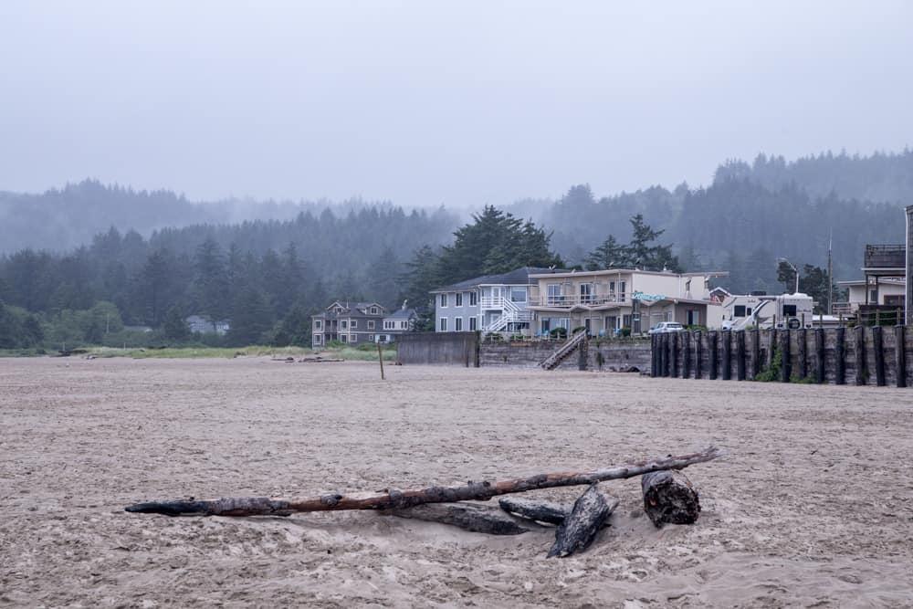 Beach houses Cannon Beach