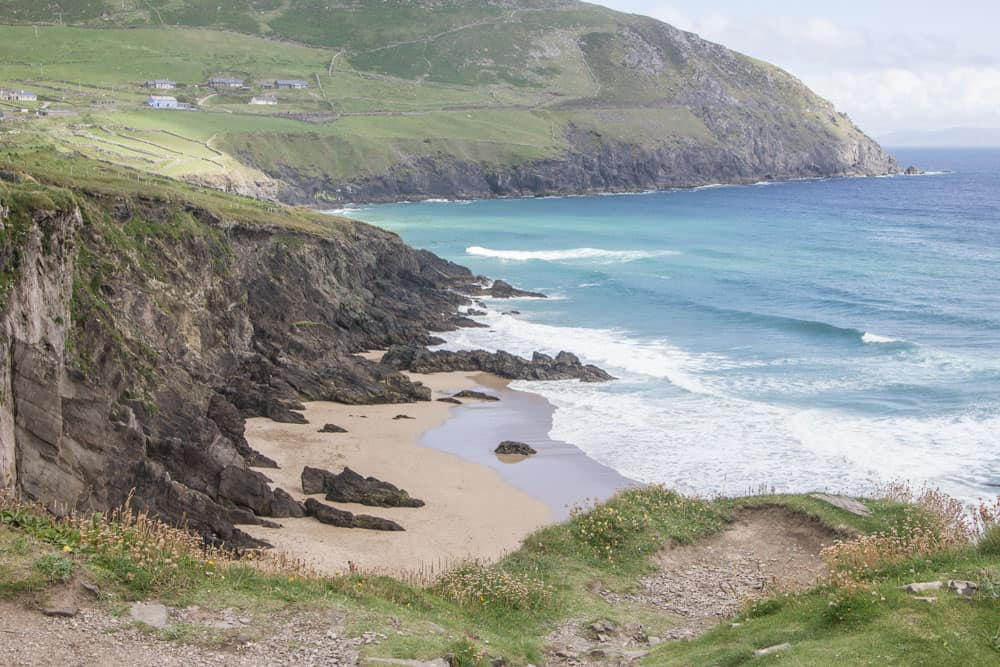 Coumeenoole Strand along the Slea Head Drive route in Dingle, Ireland