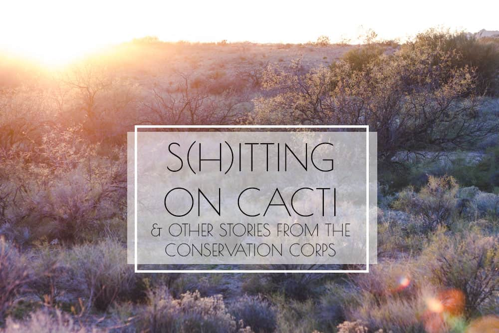 s(h)itting on cacti & other stories from the conservation corps