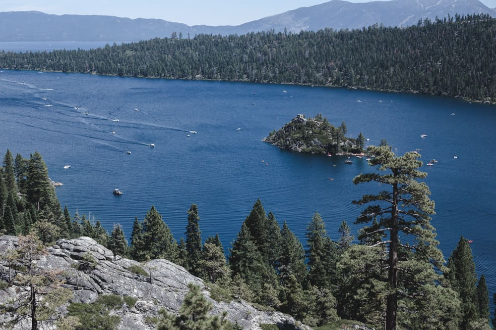 Emerald Bay State Park in Lake Tahoe, Califonria