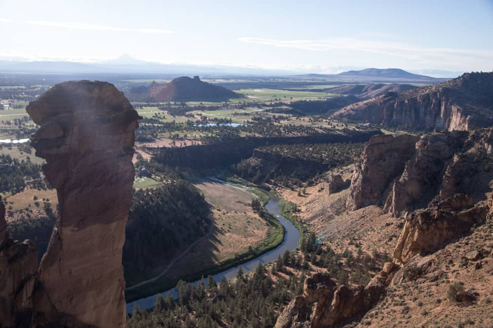 Smith Rock State Park and Monkey Face near Bend, Oregon