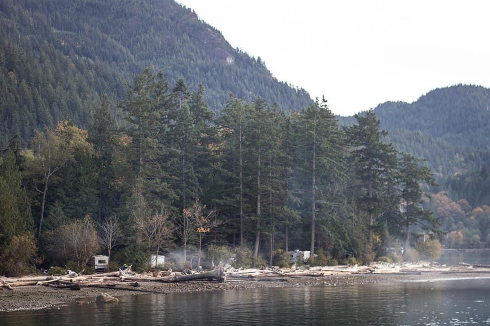 Porteau Cove near Vancouver, Canada, BC