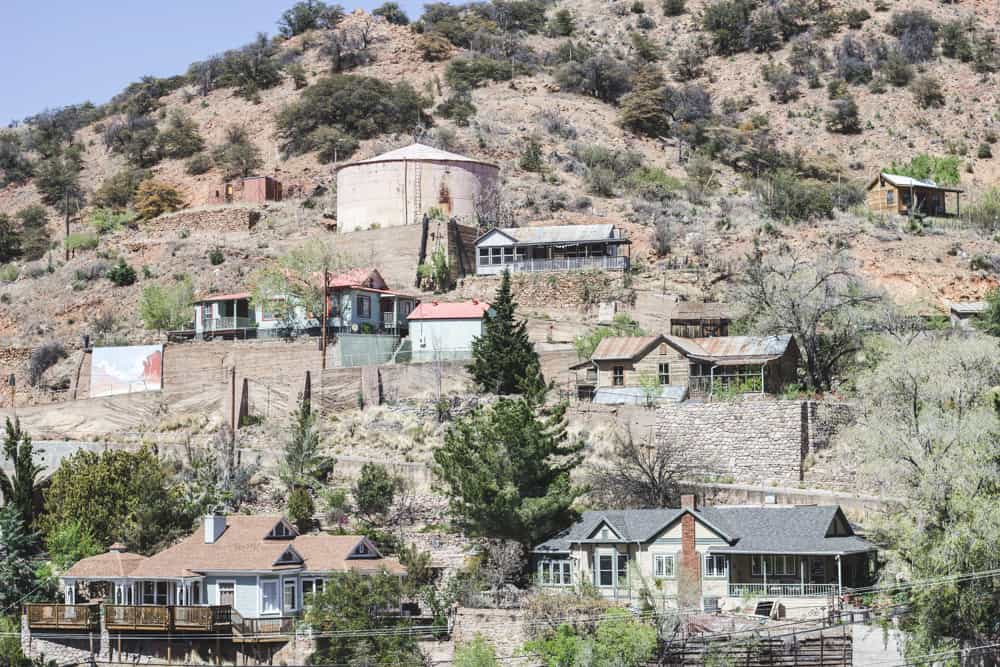 Houses in Bisbee, Arizona