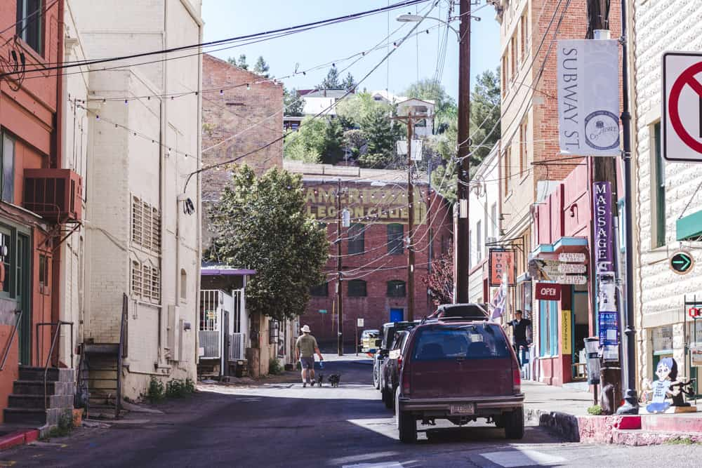 Alleyway in Bisbee, Arizona