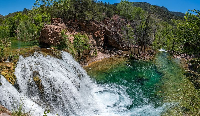 Fossil Creek in Arizona