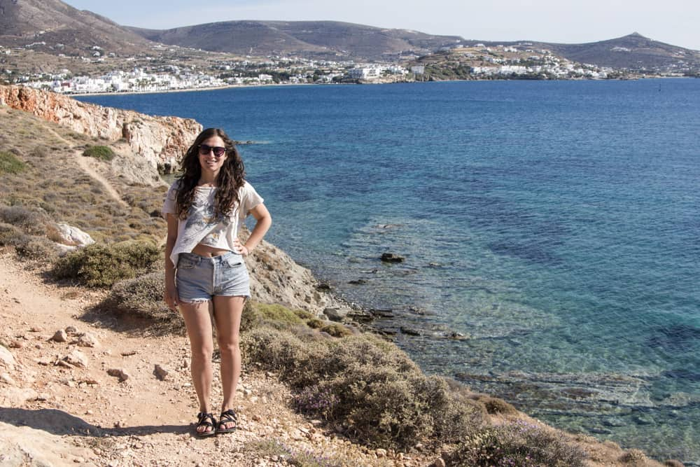 Solo Travel in Paros, Greece