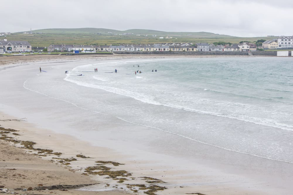 Beach in Kilkee in Ireland; Summer Bucketlist