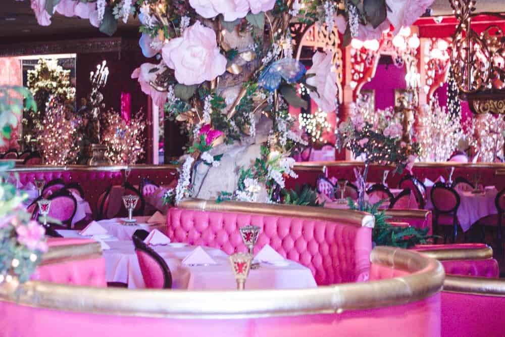 Restaurant at the Madonna Inn in San Luis Obispo, California