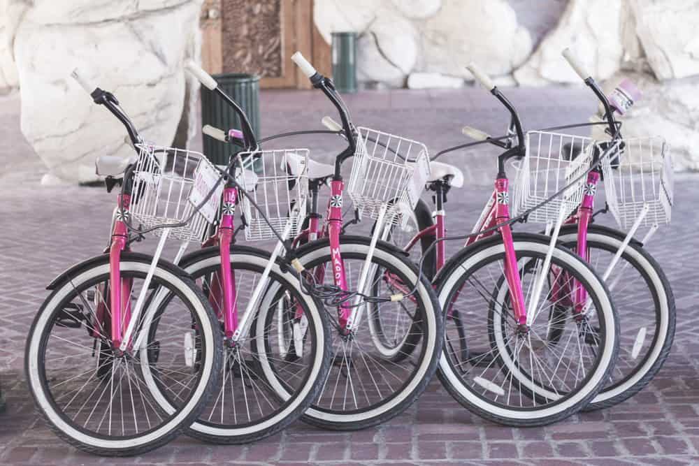 Bikes at The Madonna Inn in San Luis Obispo, California