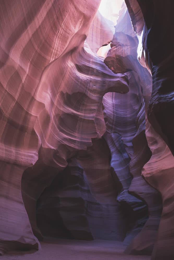 Upper Antelope Canyon near Page, Arizona