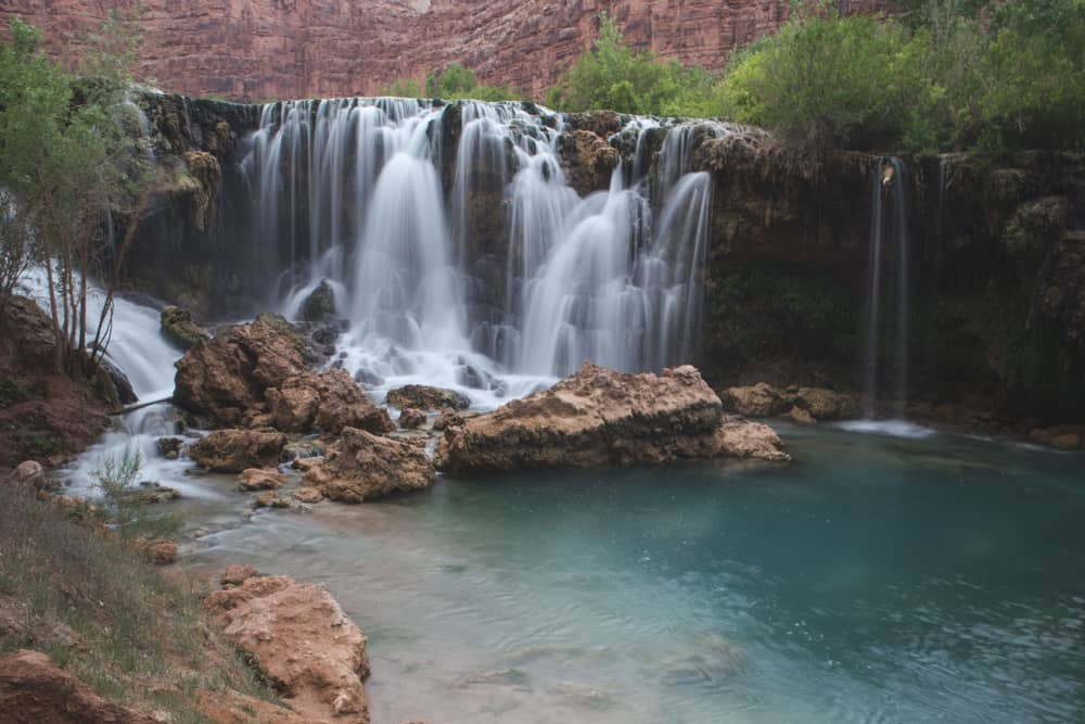 Waterfall in Havasupai, Arizona