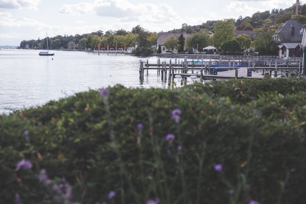 Lake in Starnberg, Germany