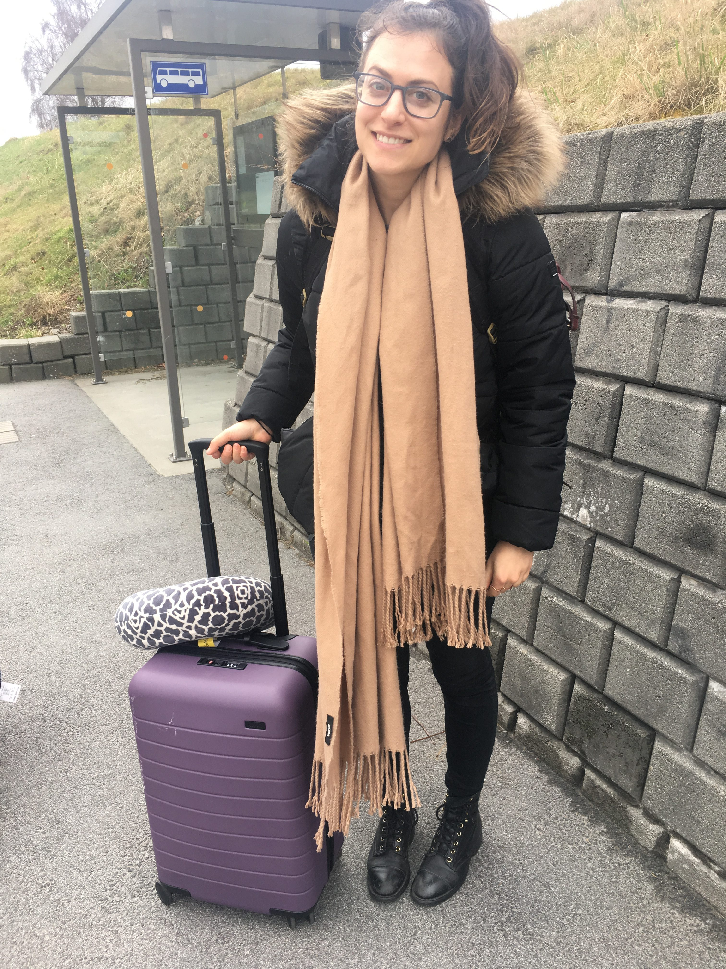 Female Packing list for 3 months of travel in Europe in winter and spring with just a carry on suitcase
