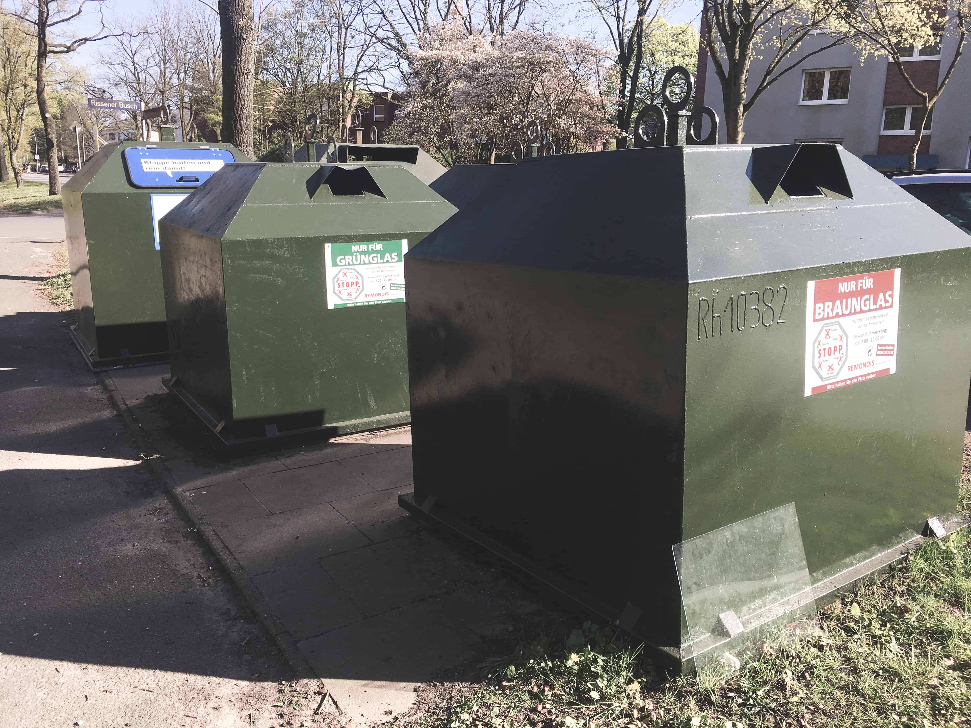 Germans are into separating EVERYTHING when it comes to recycling - one thing that surprised me about Germany!