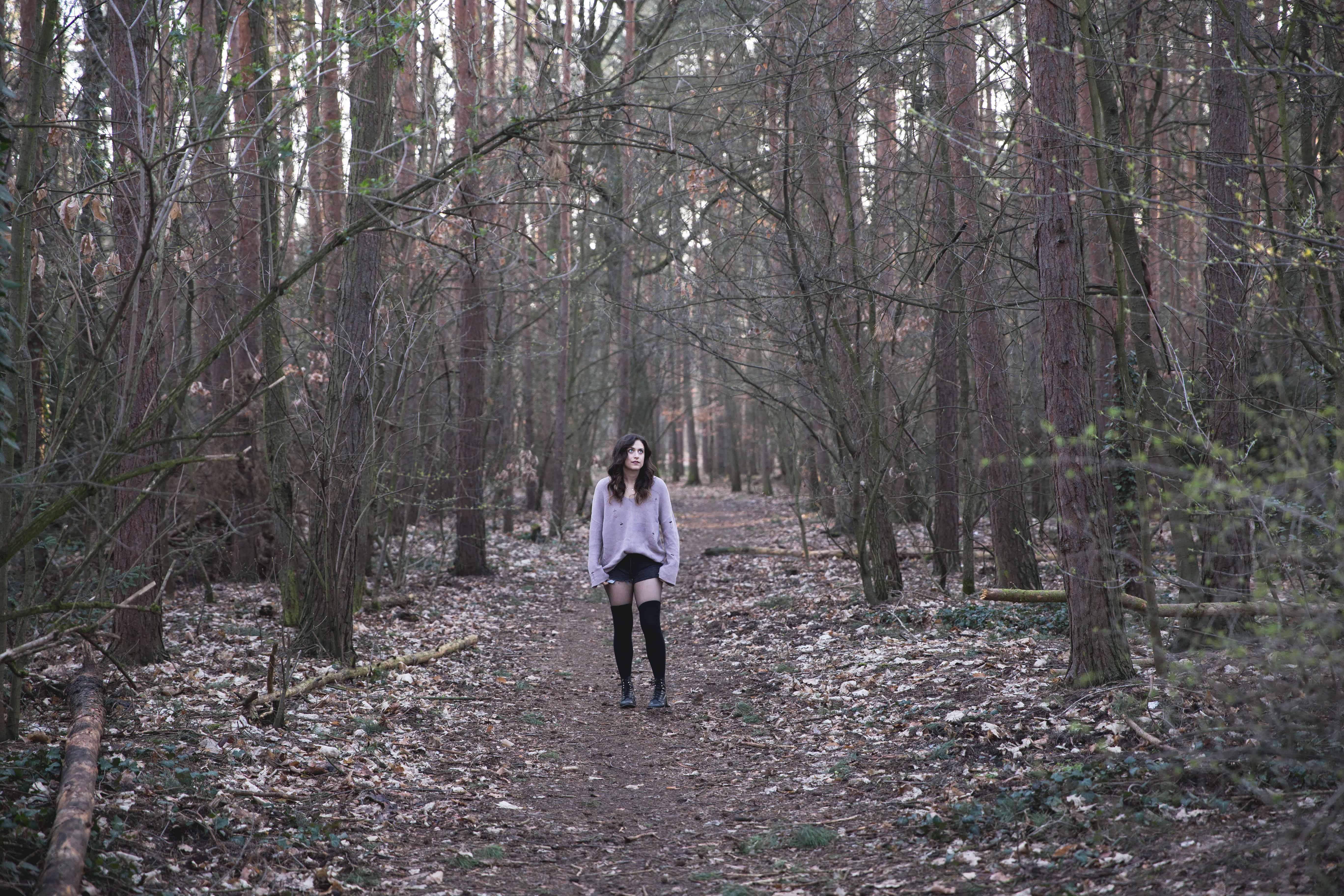 Forest in Alt-Tegel Berlin