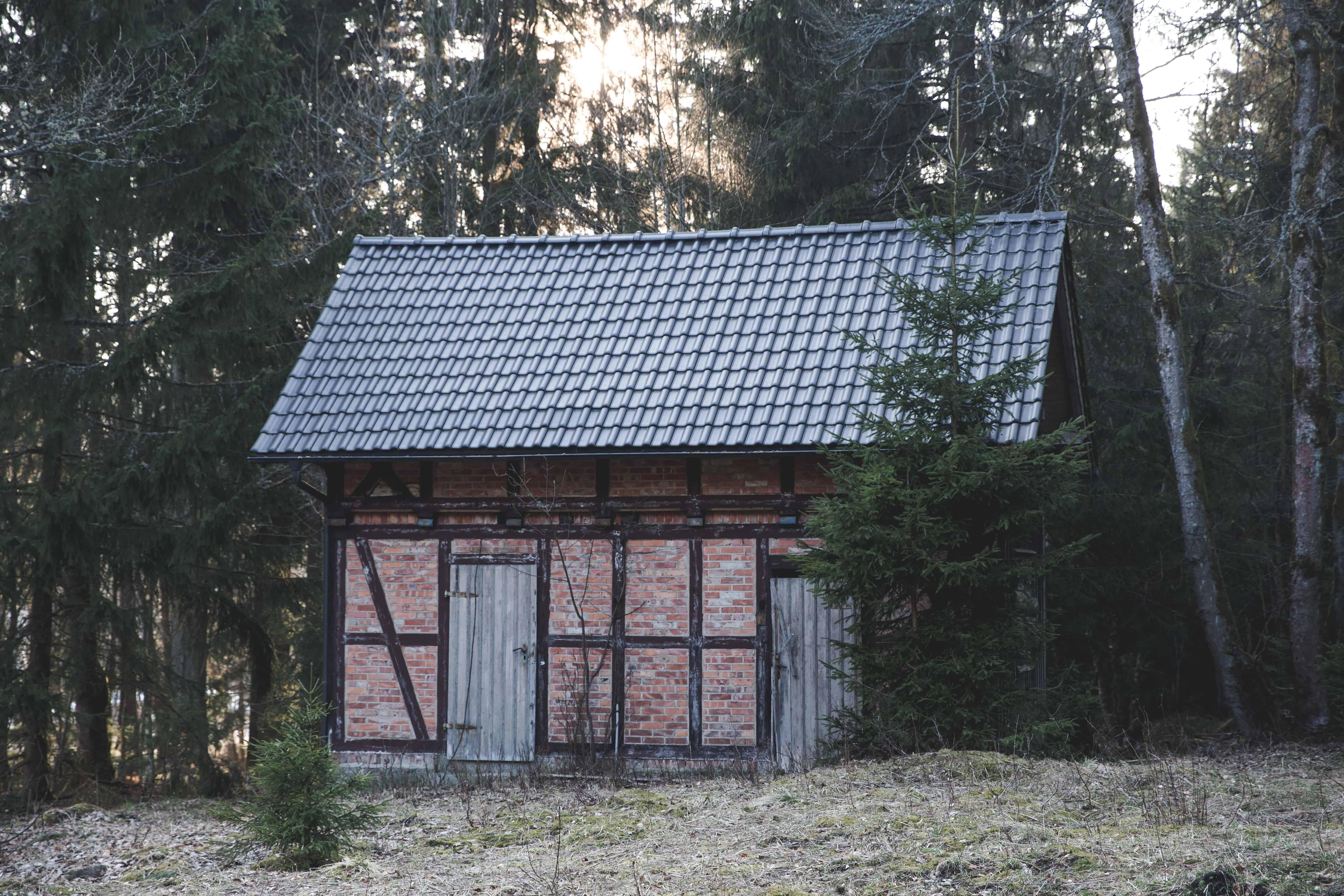 Brick building in Wernigerode, Germany