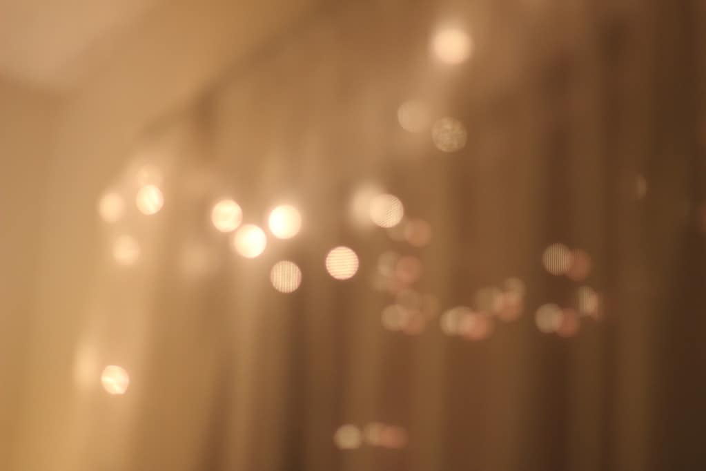 Fairy lights and ambiance are things I miss the most about living in one place
