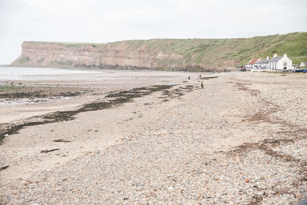 Saltburn-at-the-Sea Beach in England