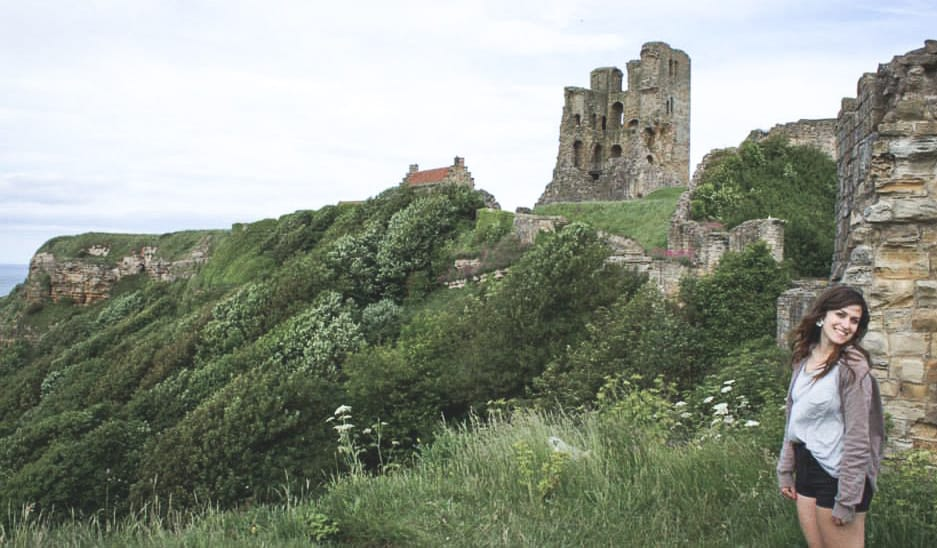 Scarborough Castle in Scarborough, England - one of the Yorkshire coastal towns you should visit