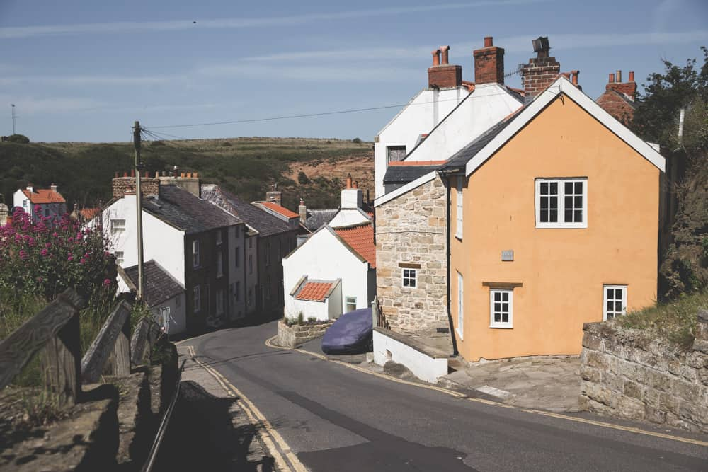 Staithes is one of the pretty Yorkshire coastal towns, and a great seaside destination to stop at
