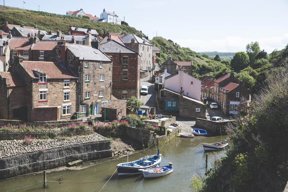 Staithes is one of the beautiful Yorkshire coastal towns to visit in England