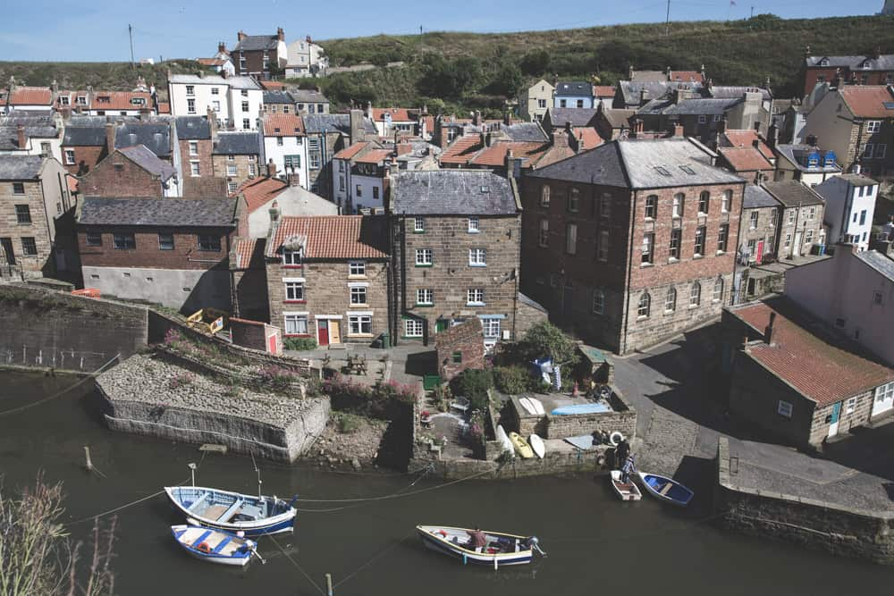 Staithes Village is one of the pretty Yorkshire coastal towns to visit