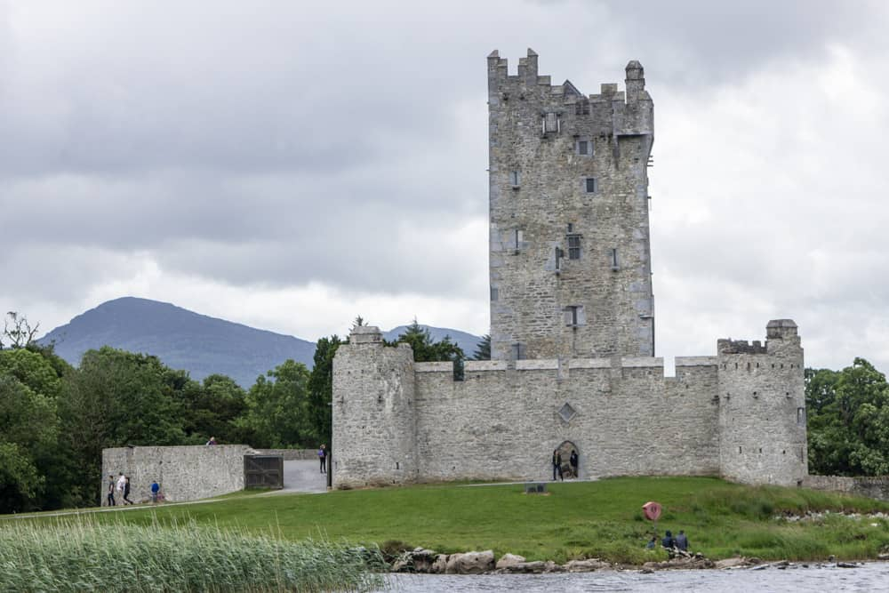 Ross Castle in Killarney National Park in Ireland