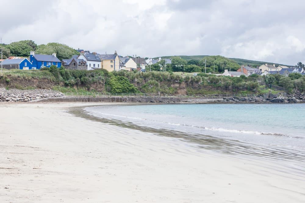 ventry beach on slea head drive in ireland
