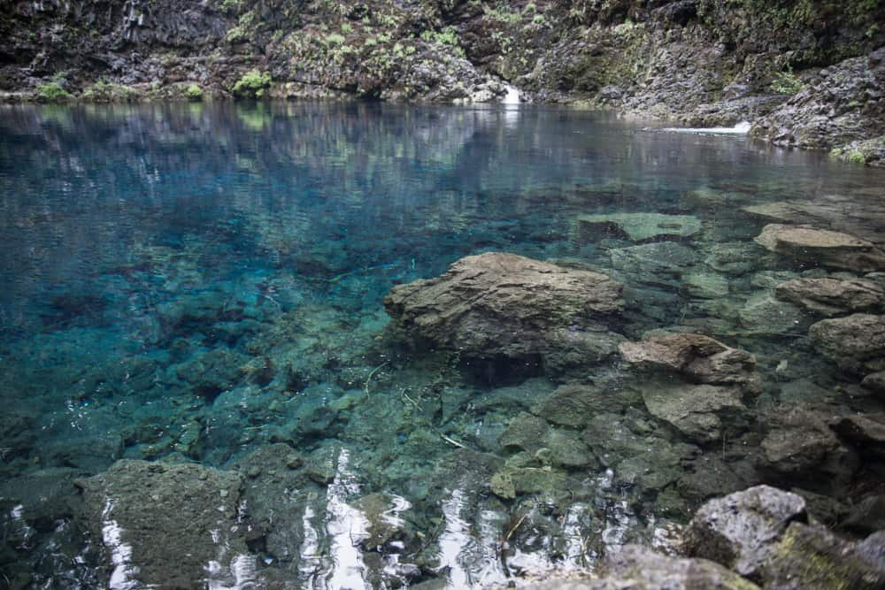 Tamolitch Blue Pool in Oregon