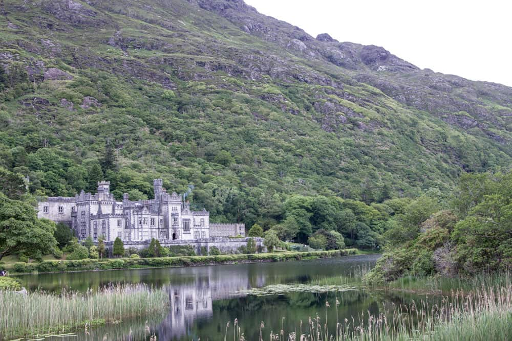 Kylemore Abbey in Connemara, County Galway in Ireland