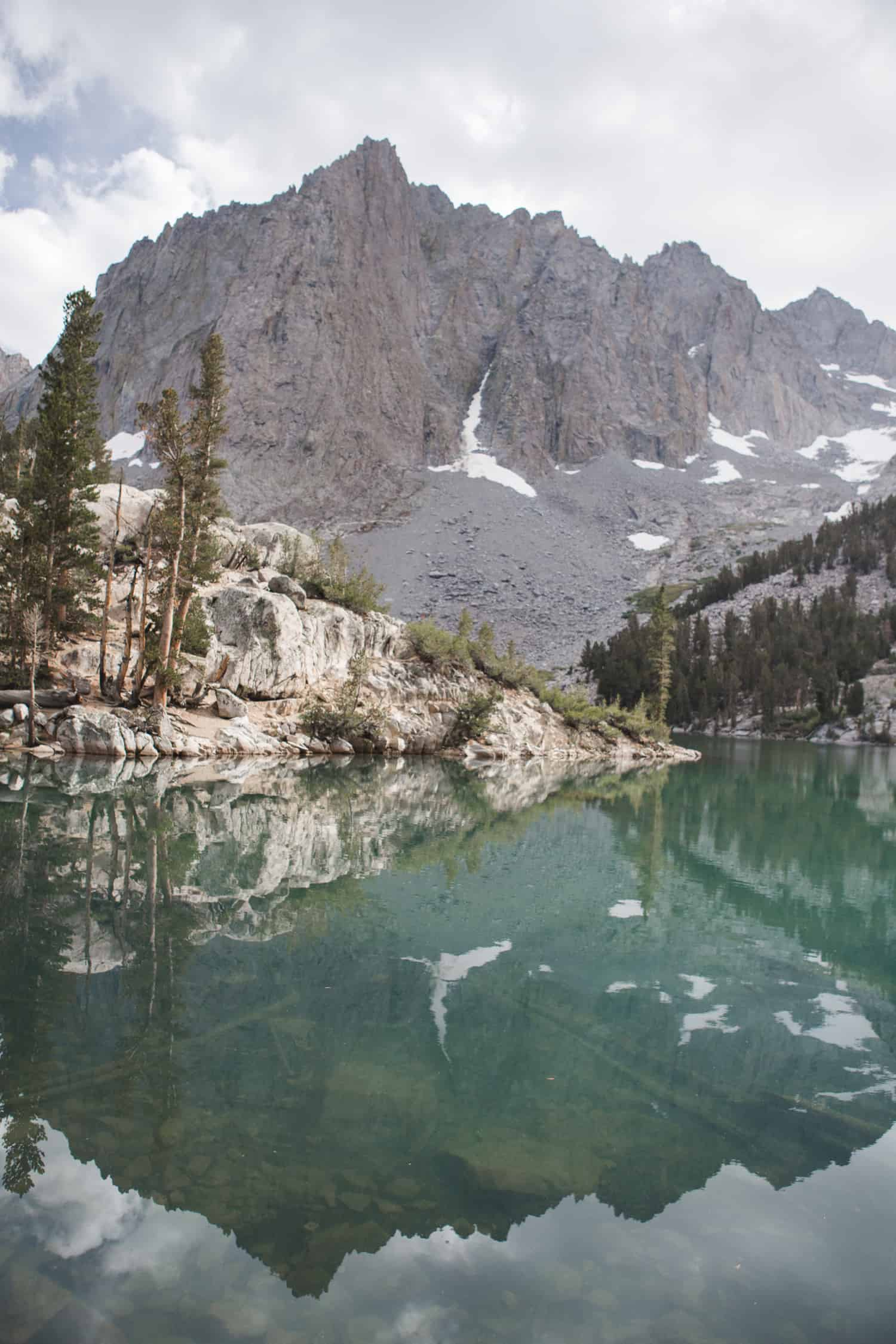 Third Lake on the Big Pine Lakes Trail in the Eastern Sierras