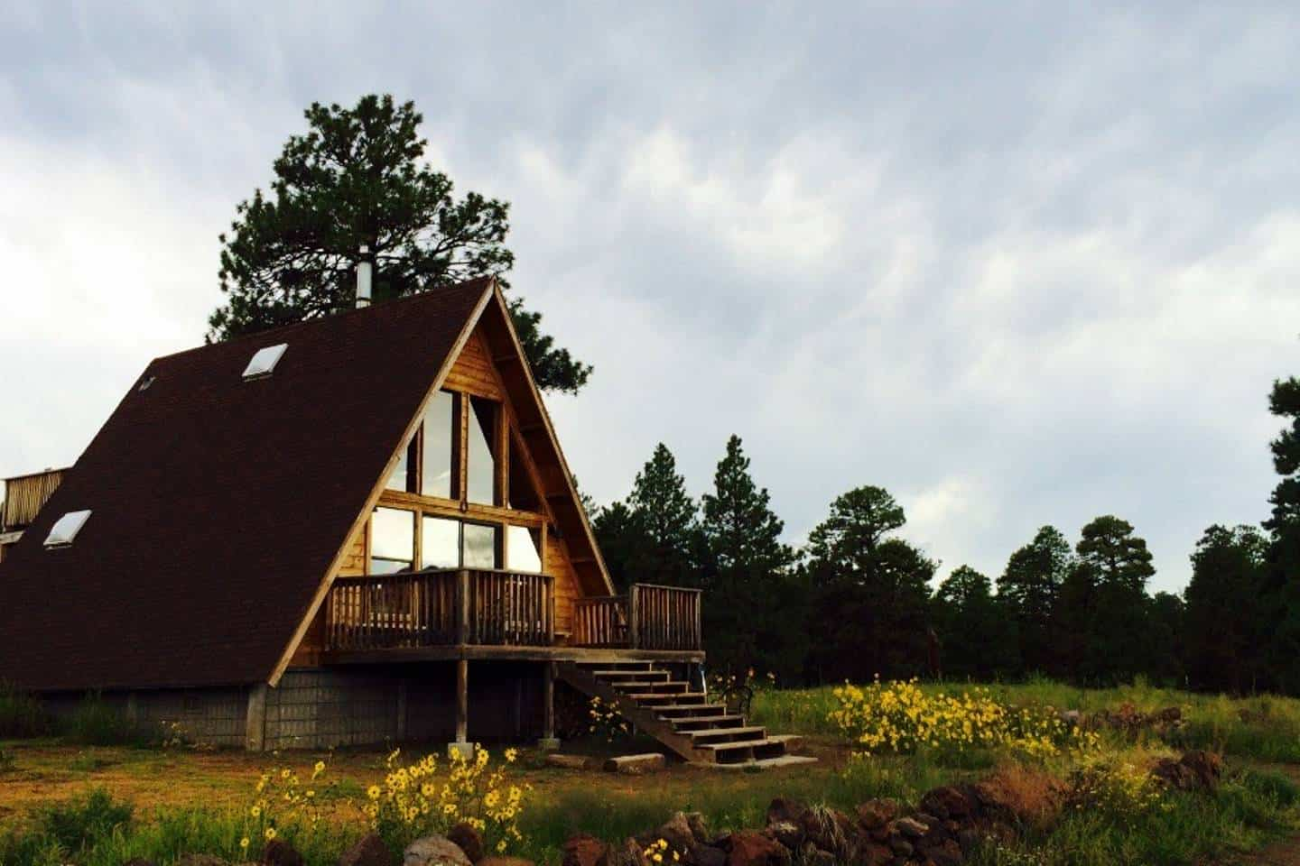 A-Frame Cabin AirBnb on my California Travel Bucket List