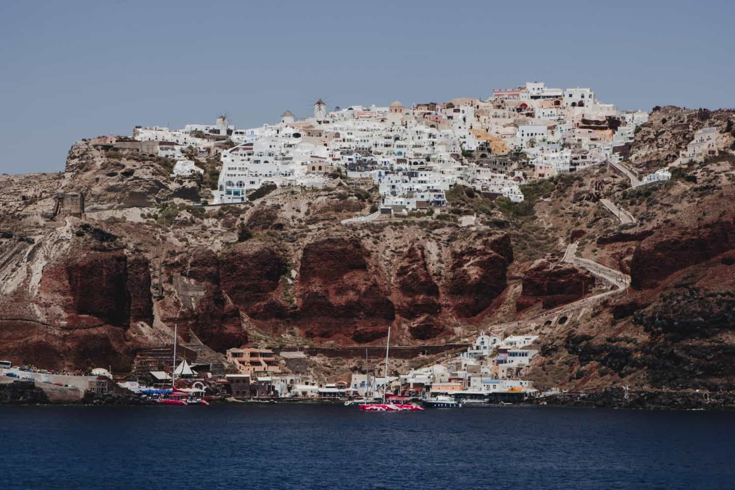 Santorini is a volcanic island in Greece. Here's a great idea for a Santorini itinerary!