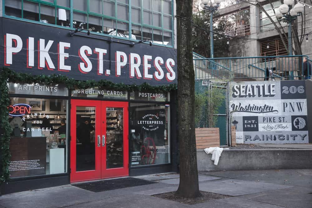 Pike Street Press in Seattle, Washington