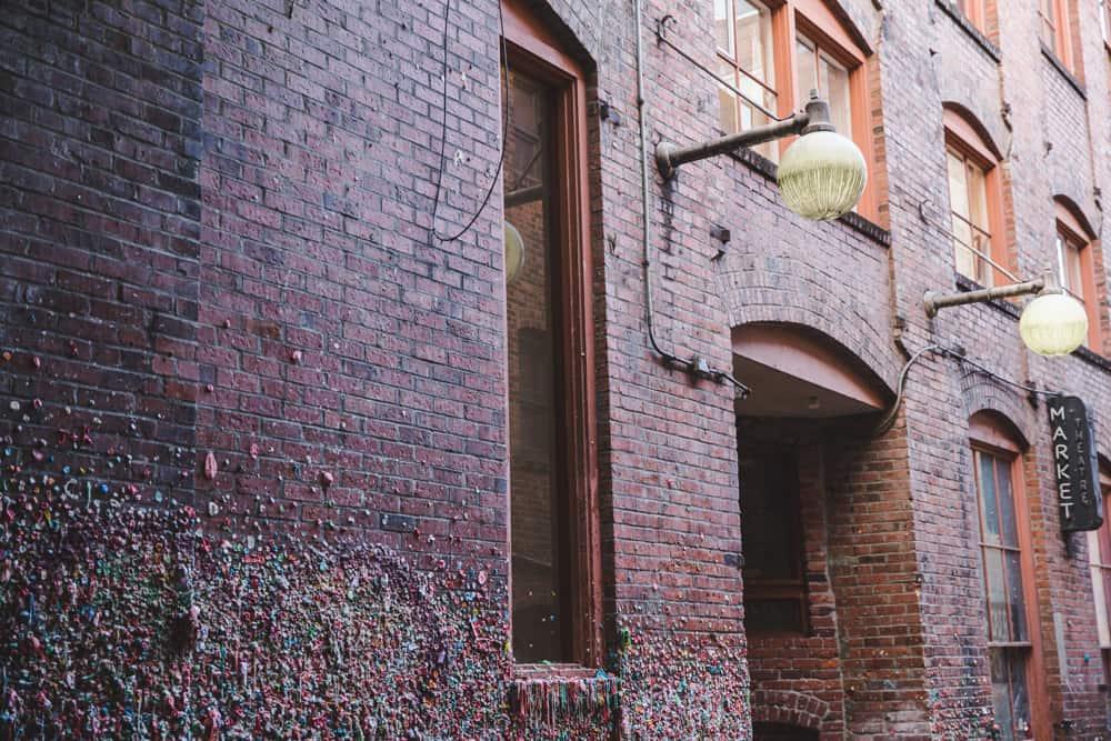 Bubblegum Wall in Seattle, Washington