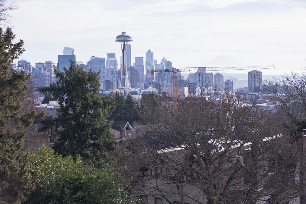 Kerry Park in Seattle, Washington