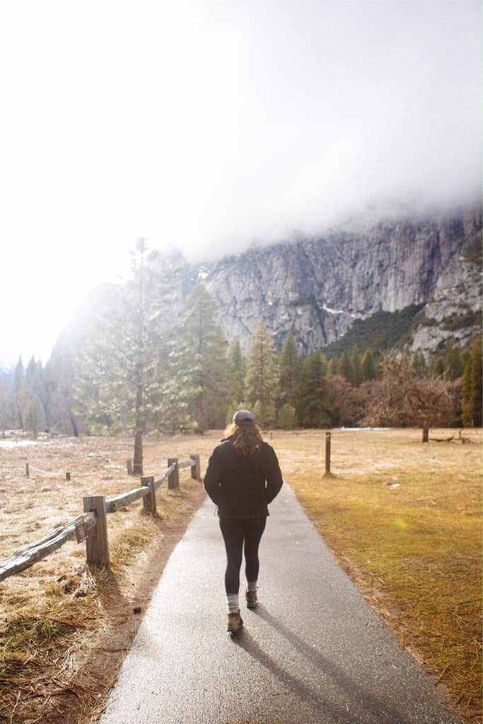 Yosemite Valley is a great destination in the fall!