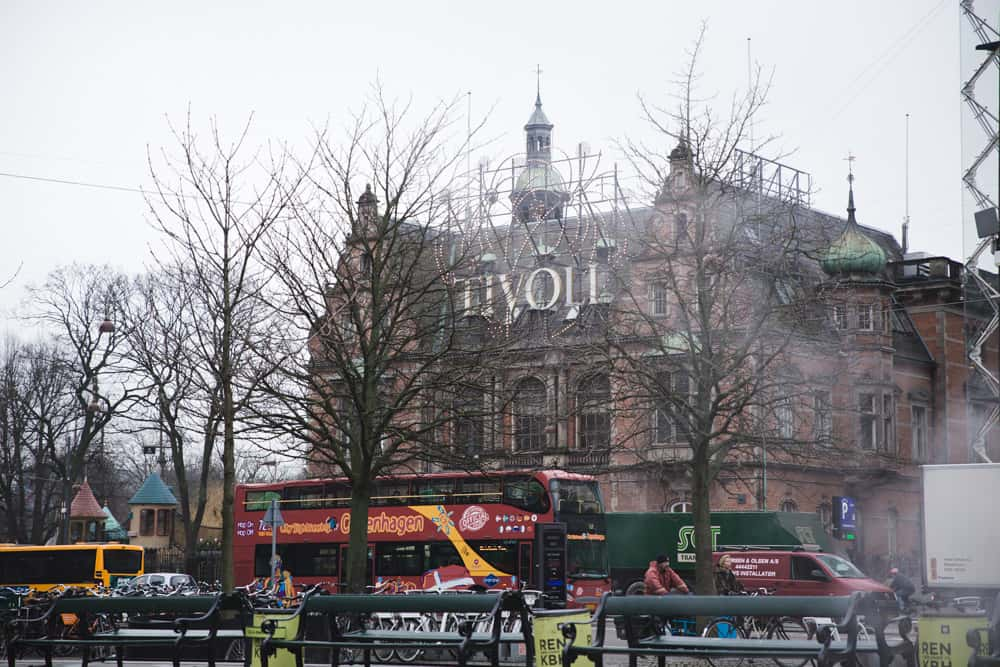 Tivoli was closed in Copenhagen, Denmark in January