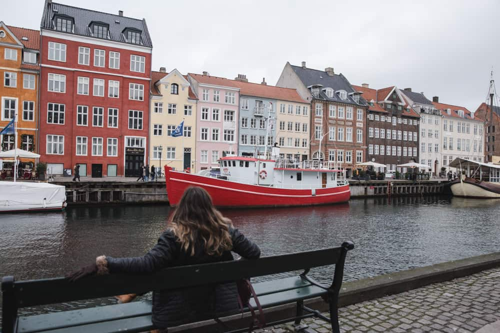 Nyhavn in Copenhagen; Flight Horror Stories