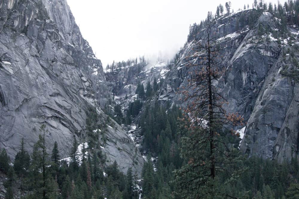 The Mist Trail to Vernal Falls is a great winter hike in Yosemite National Park; add this to your winter itinerary!