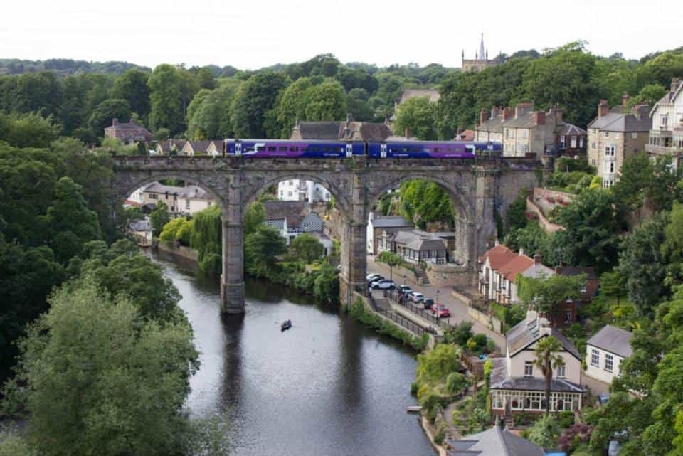 Train in Knaresborough, England; Flight Horror Stories