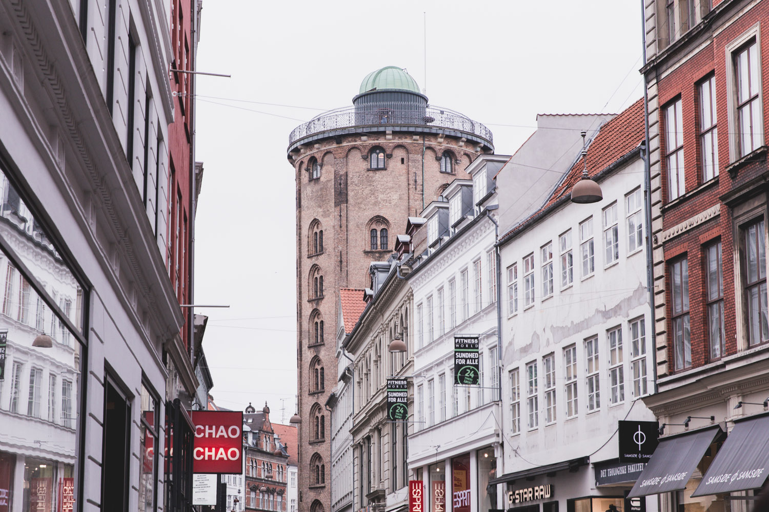 The Round Tower, or Rundetaarn, in Copenhagen is an excellent addition to your itinerary, even in winter!