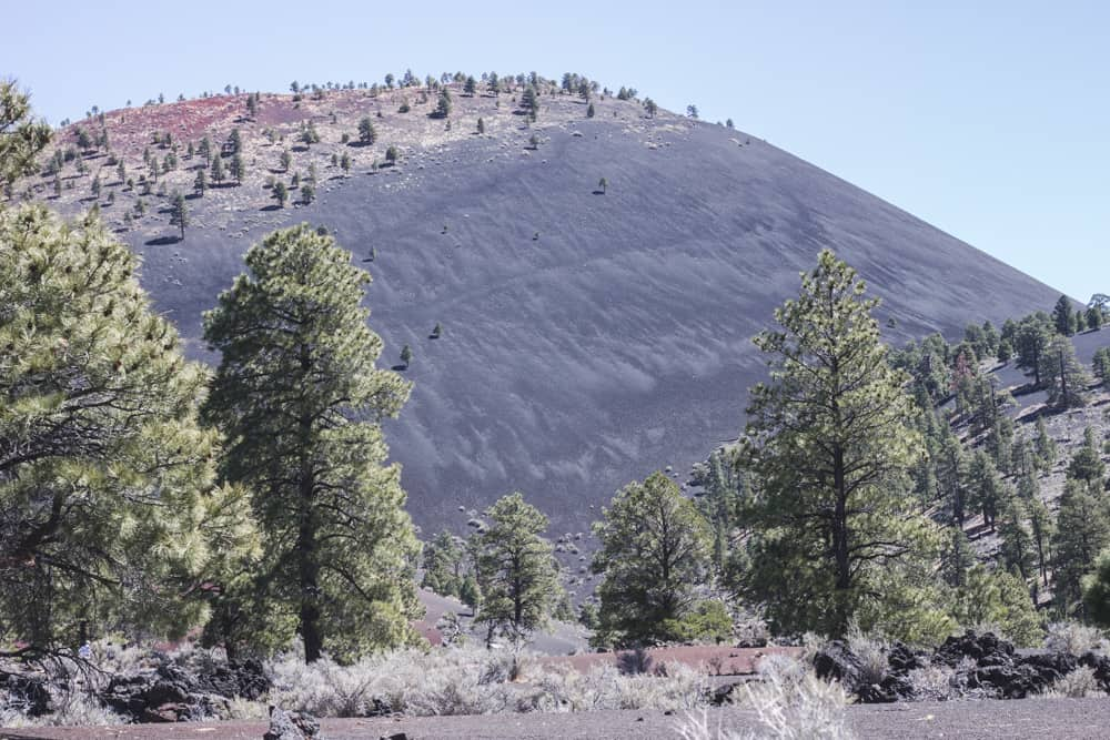 Sunset Crater near Flagstaff, Arizona