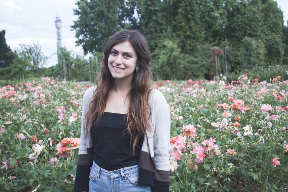 Queen Mary's Rose Garden in London