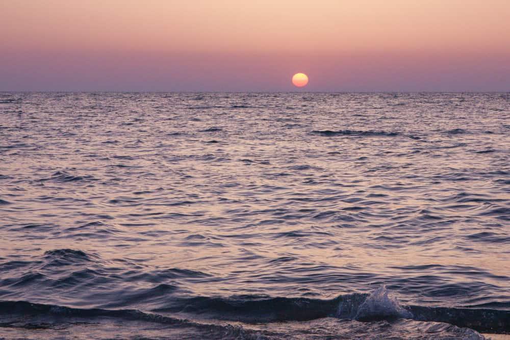 Sunset in Israel; Summer Bucketlist