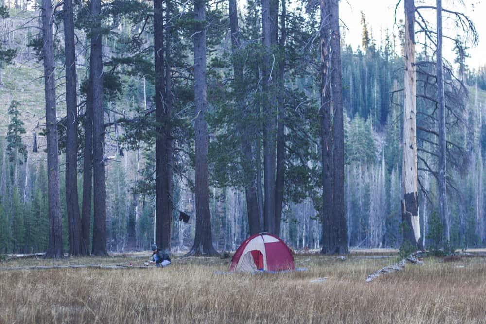 Camping in Lassen National Park; Summer Bucketlist