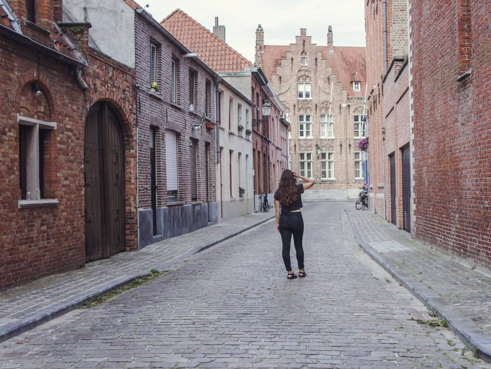 Bruges, Belgium is full of cobblestone streets, brick houses, and fairytale!