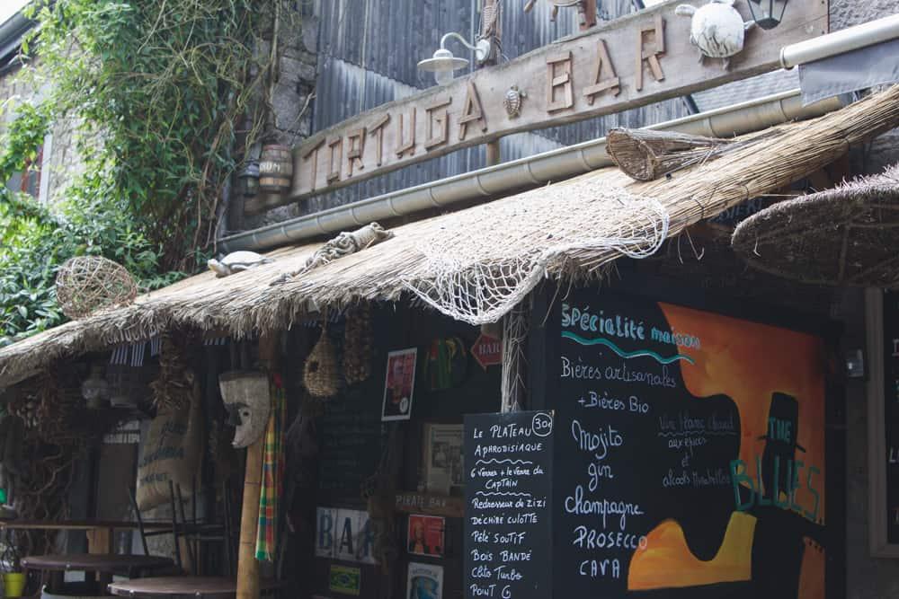 Tortuga Bar in Durbuy, Belgium