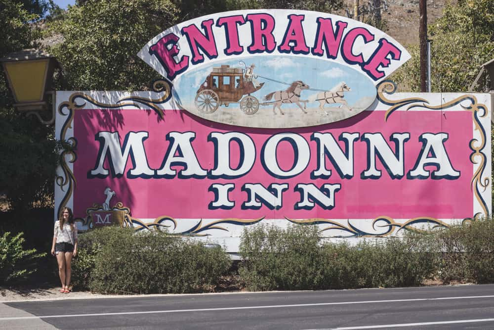 The Madonna Inn in San Luis Obispo, California
